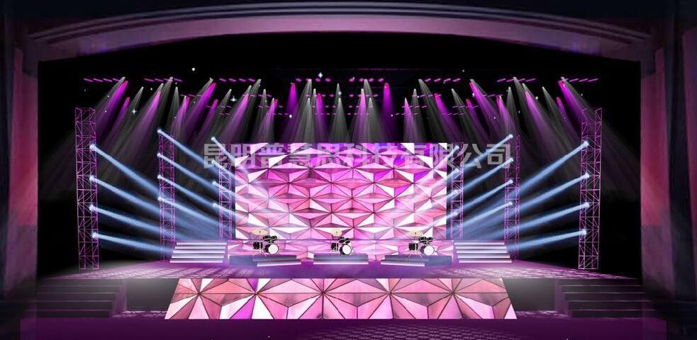 舞台灯光设计方案